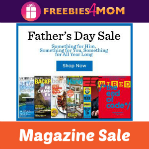 Father's Day Magazine Sale
