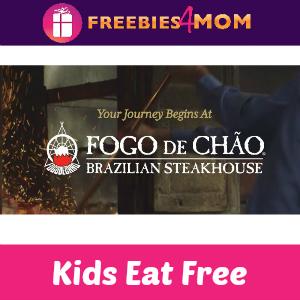 Kids Eat Free at Fogo de Chão July 1-4