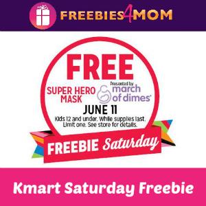 Free Super Hero Mask at Kmart