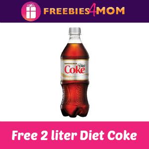 Free 2 Liter Diet Coke at Target