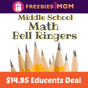 Middle School Math Practice $14.95