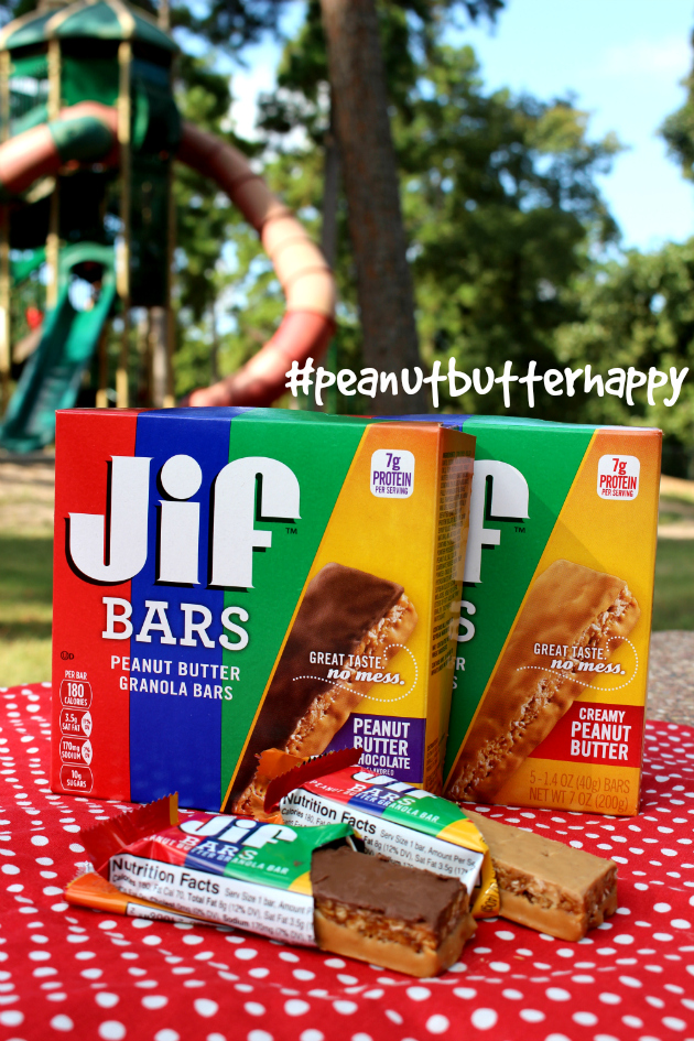 Get #peanutbutterhappy with Jif™ Bars at Walmart