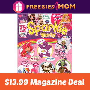 Magazine Deal: Sparkle World $13.99