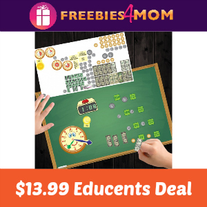 Peel, Play & Learn Reusable Stickers $13.99