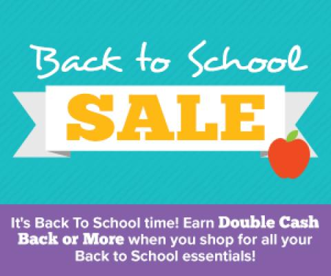 Shop for Back To School with Swagbucks