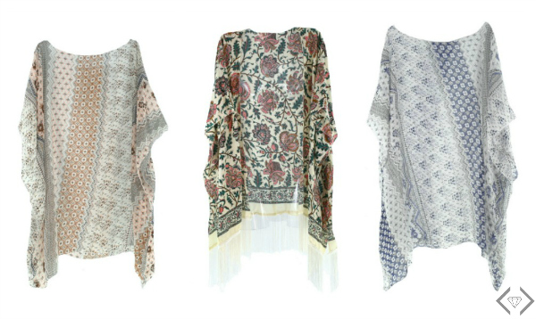 Kimonos Starting at $9.95