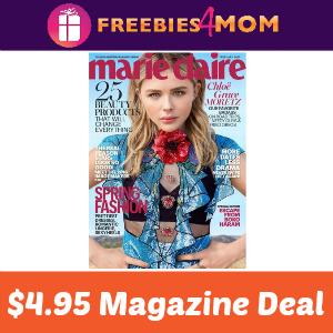 Magazine Deal: Marie Claire $4.95