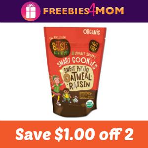 $1.00 off 2 Bitsy's Brainfood Smart Cookies