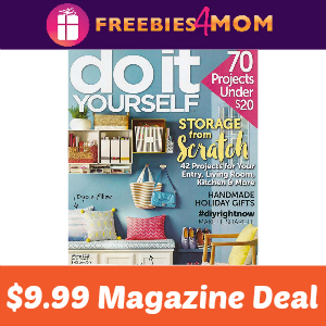 Magazine Deal: Do It Yourself $9.99
