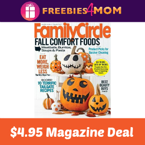 Magazine Deal: Family Circle $4.95