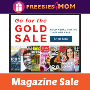 Go For The Gold Magazine Sale