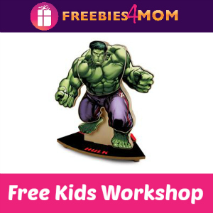 Free Hulk Kids Clinic at Lowe's Aug. 27