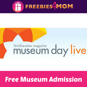 Free Admission on Museum Day Sept. 24