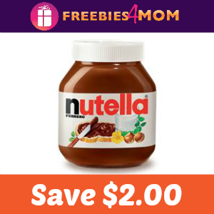 Coupon: $2.00 off one Nutella