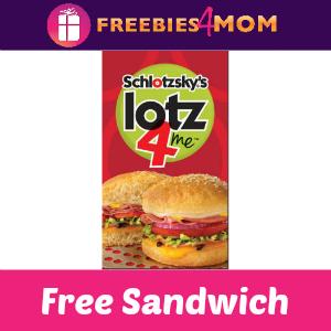 Free Original Sandwich at Schlotzsky's