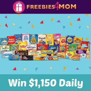 Sweeps Nabisco 115 Moments of Joy