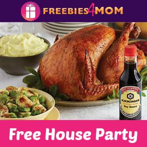 Free House Party: Kikkoman Brine a Juicy Bird