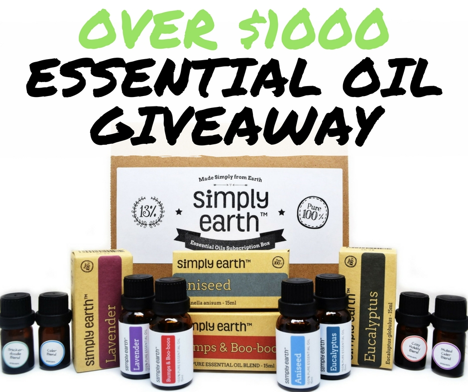 Free Essential Oils from Simply Earth