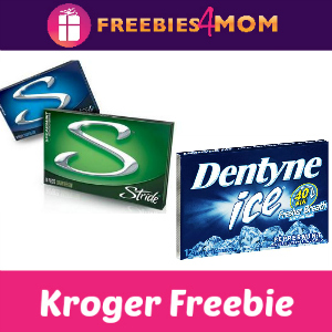 Free Pack of Stride or Dentyne Gum at Kroger