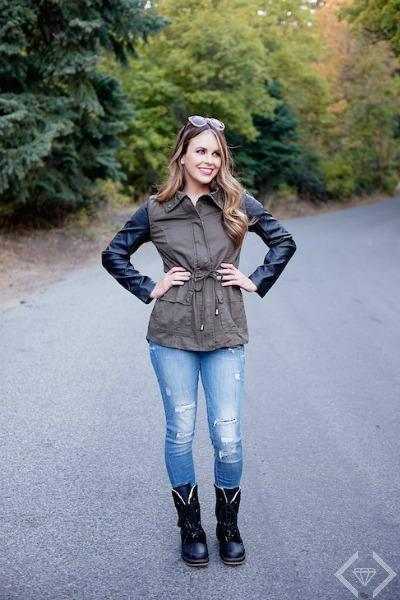 Harriet Military Jacket $21.95