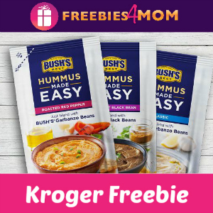Free Bush's Hummus Made Easy at Kroger