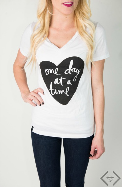 One Day at a Time Tee $15.95