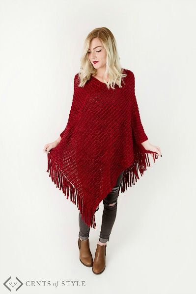 50% off Ponchos (Starting at $7.98)