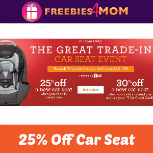 Toys R Us Great Car Seat Trade In Event
