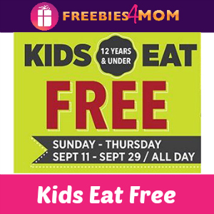 Kids Eat Free at Applebee's