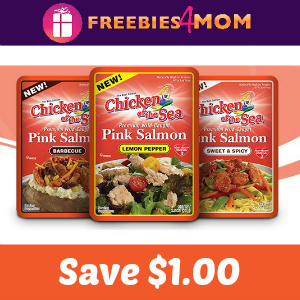 Coupon: $1.00 off one Chicken of the Sea