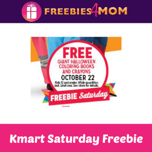 Free Giant Halloween Coloring Books at Kmart