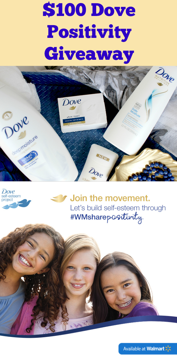 $100 Dove Positivity Giveaway