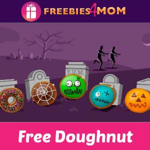 Free Doughnut at Krispy Kreme on Halloween
