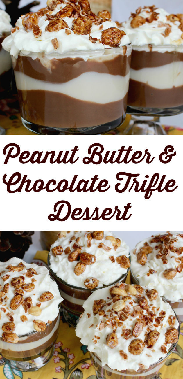 Peanut Butter & Chocolate Trifle Dessert plus Dillons Coupons