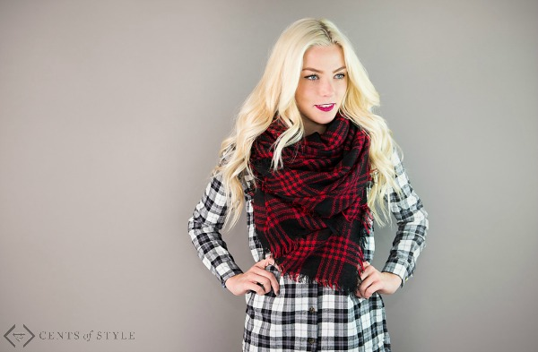 $12.95 Blanket Scarves + Free Shipping