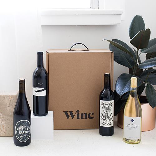 Get 40 for signin up for winc wine delivery service for Best wine delivery service