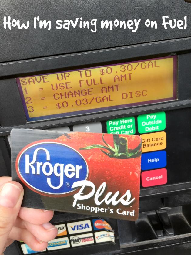 How I'm saving money on fuel at Kroger Fuel Stations