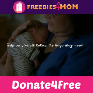Donate 4 Free: Huggies Power of Hugging Babies