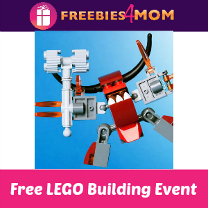 Free LEGO Nexo Knights Event at Toys R Us