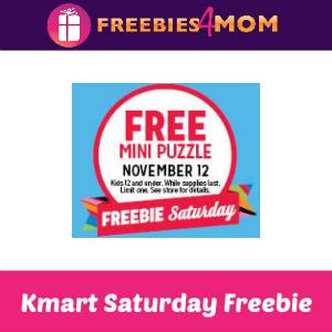 Free Mini Puzzle at Kmart