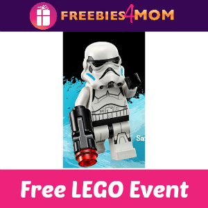 Free Lego Star Wars Event at Toys R Us