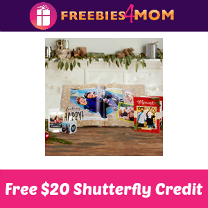 Free $20 Shutterfly Credit at My Coke Rewards