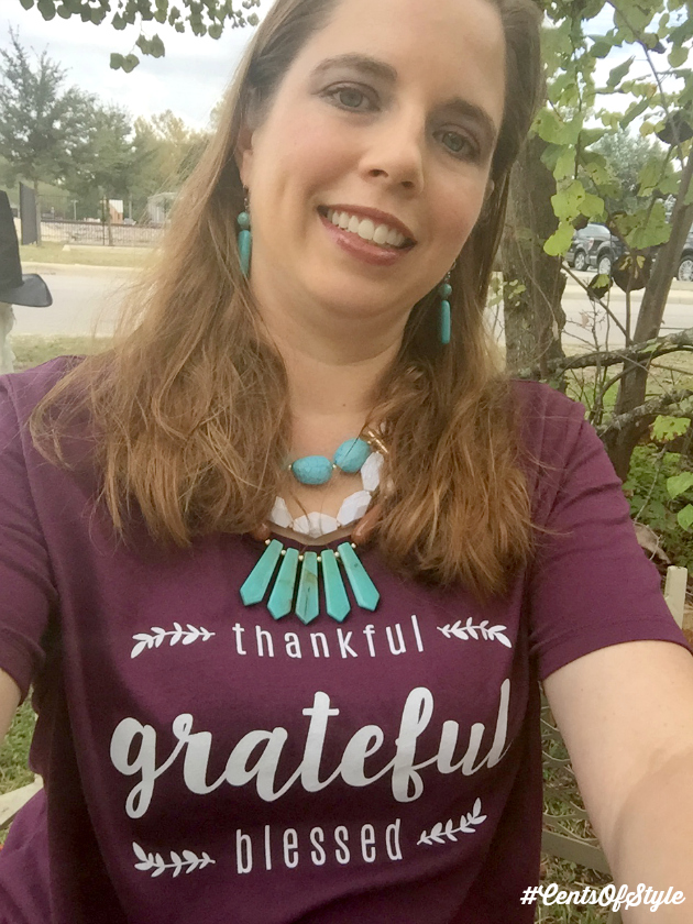 Free Thankful T-Shirt with $25+ purchase