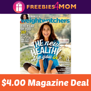 Magazine Deal: Weight Watchers $4.00