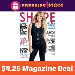 Magazine Deal: Shape $4.25