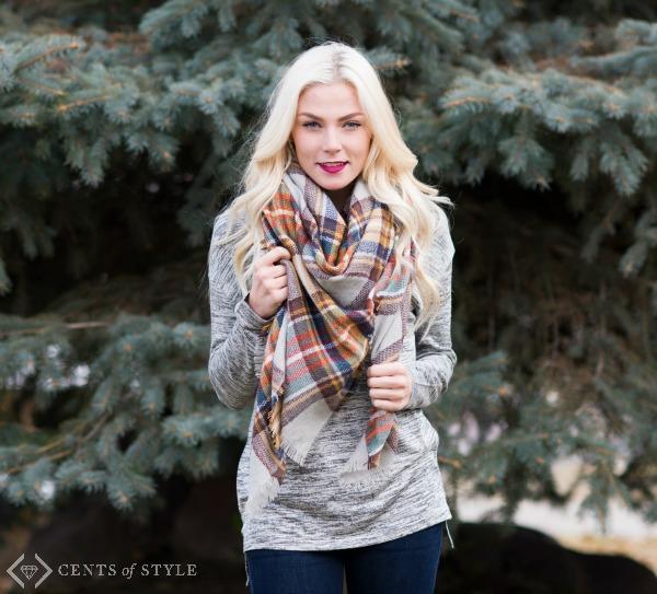 $12.95 Blanket Scarves