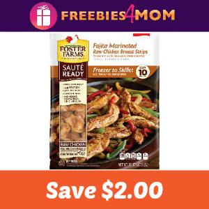 $2.00 off one Foster Farms Saute Ready Chicken