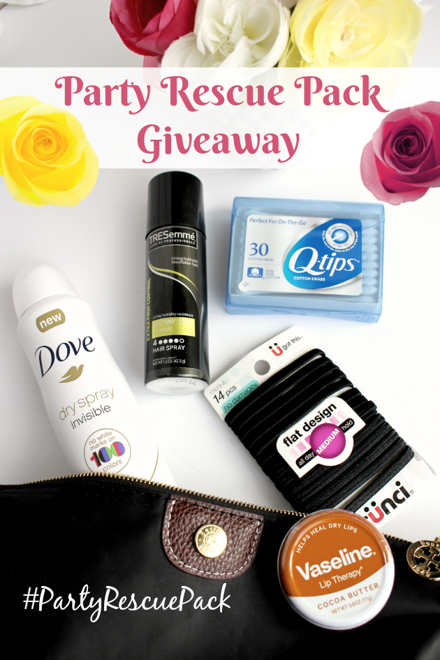 Party Rescue Pack Giveaway (3 winners): Keep the party going with Dove!