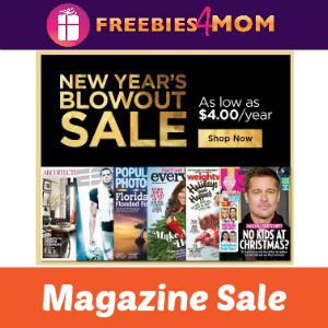 New Year's Magazine Blowout
