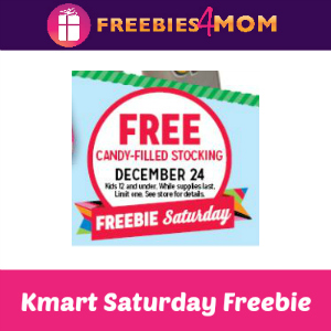 Free Candy Filled Stocking at Kmart